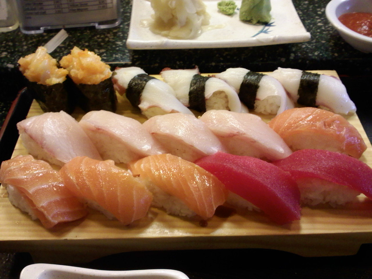 Fountain Valley :: @ my favorite all you can eat sushi, made fresh in front of you.