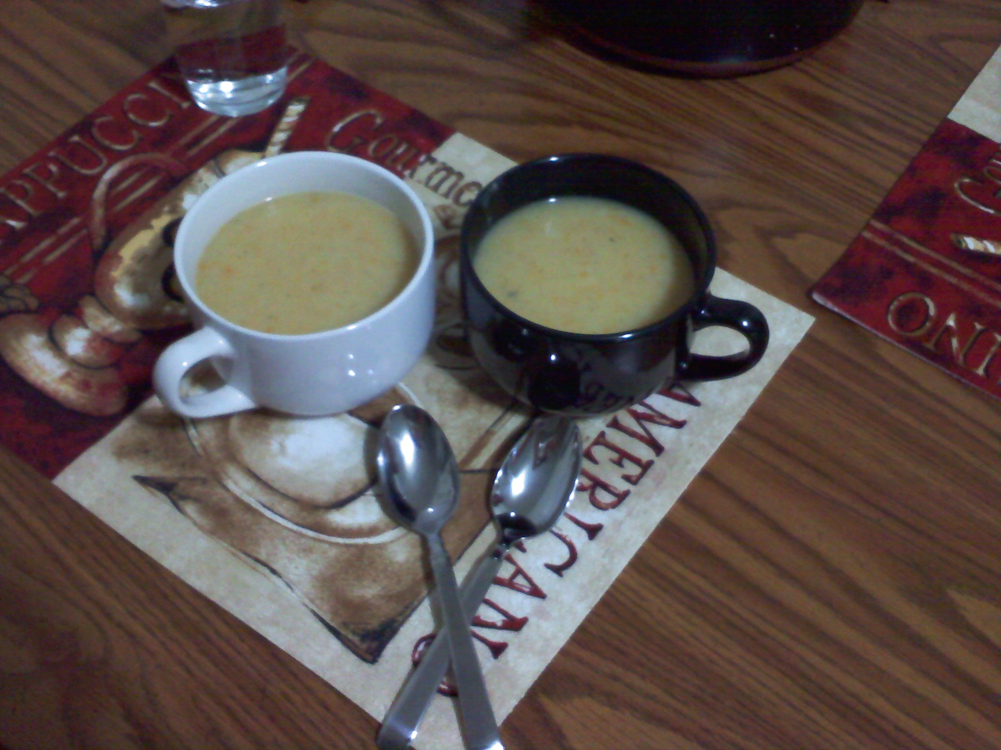 New Britain CT :: Some yummy potato soup I made for my husband for dinner tonight!