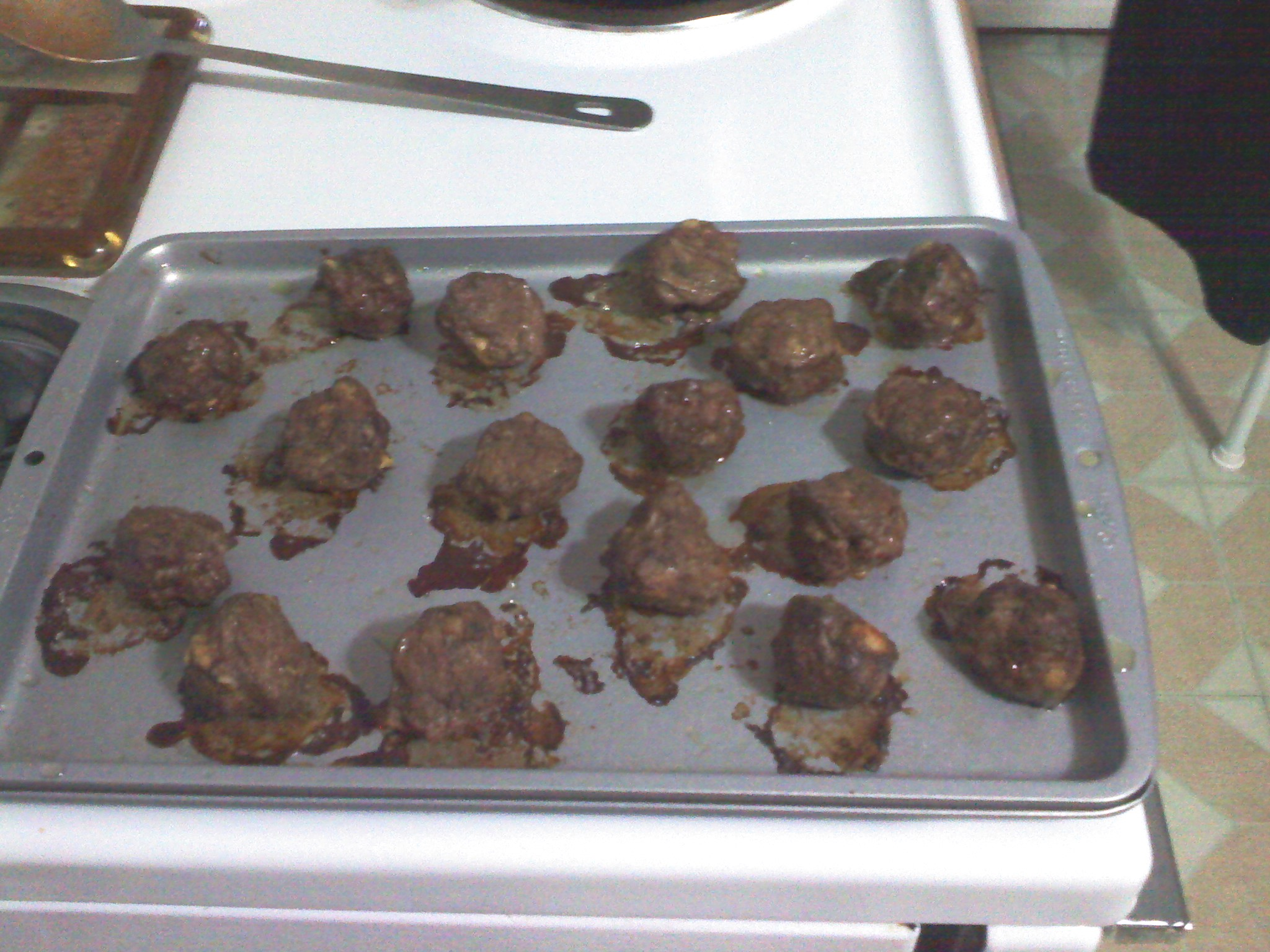 New Britain CT :: my first attempt at home made meatballs, they will be added to my pasta sauce!