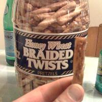 thees are Honey Wheat Twists!! they are addicting... even if you are less than a 1 years old!!