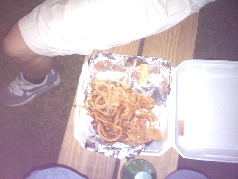 USA :: yummy cury fries