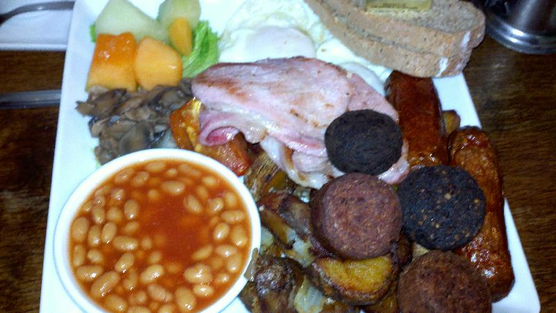 mr dooleys, boston :: full irish breakfast