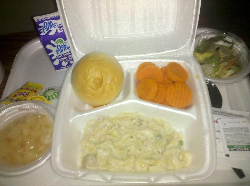Texas Hospital  :: eww Hospital food. This is what I'm supposed to be eating. Food that Sux