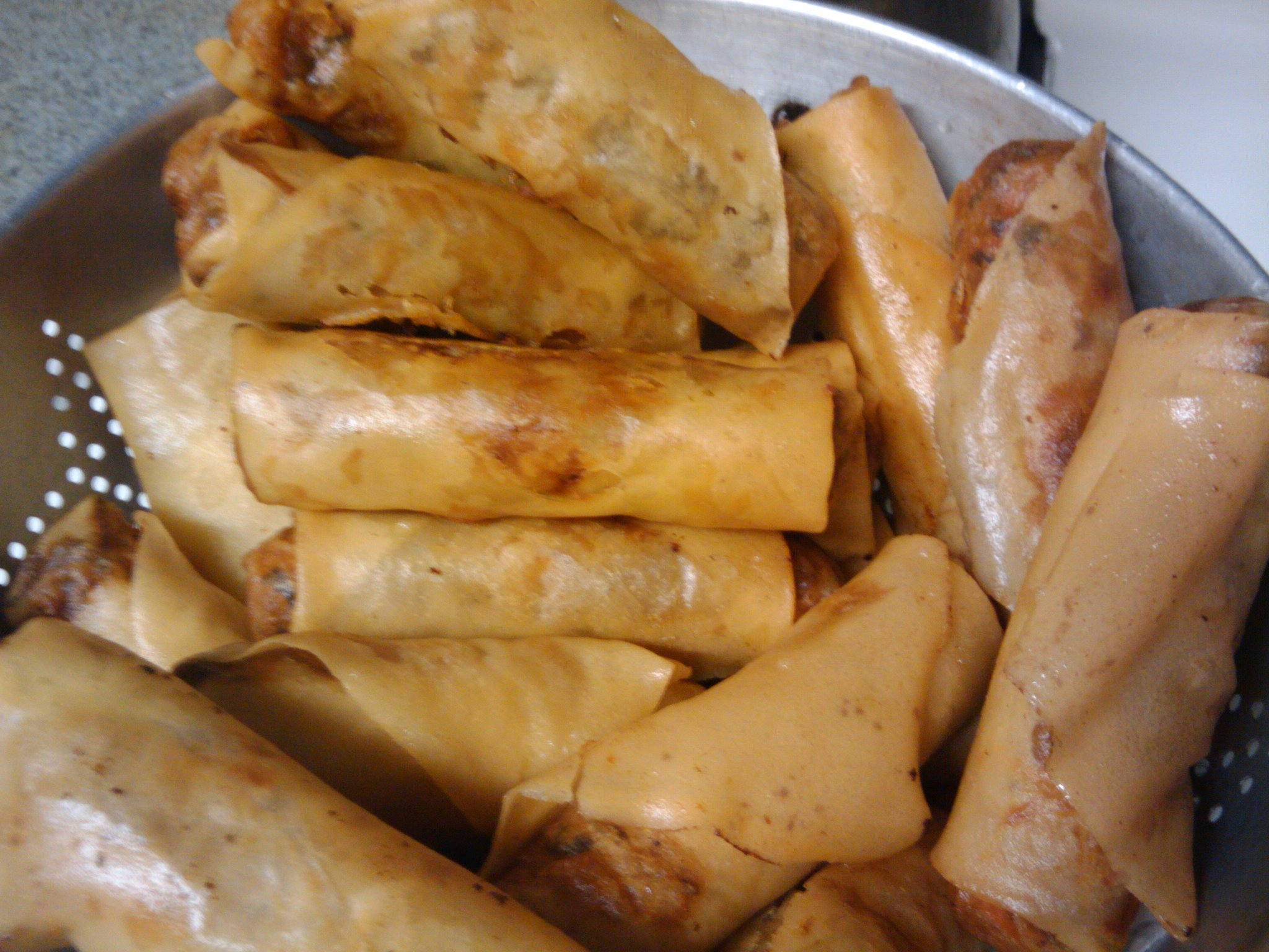 Nashua, NH :: Egg rolls made by my mom.