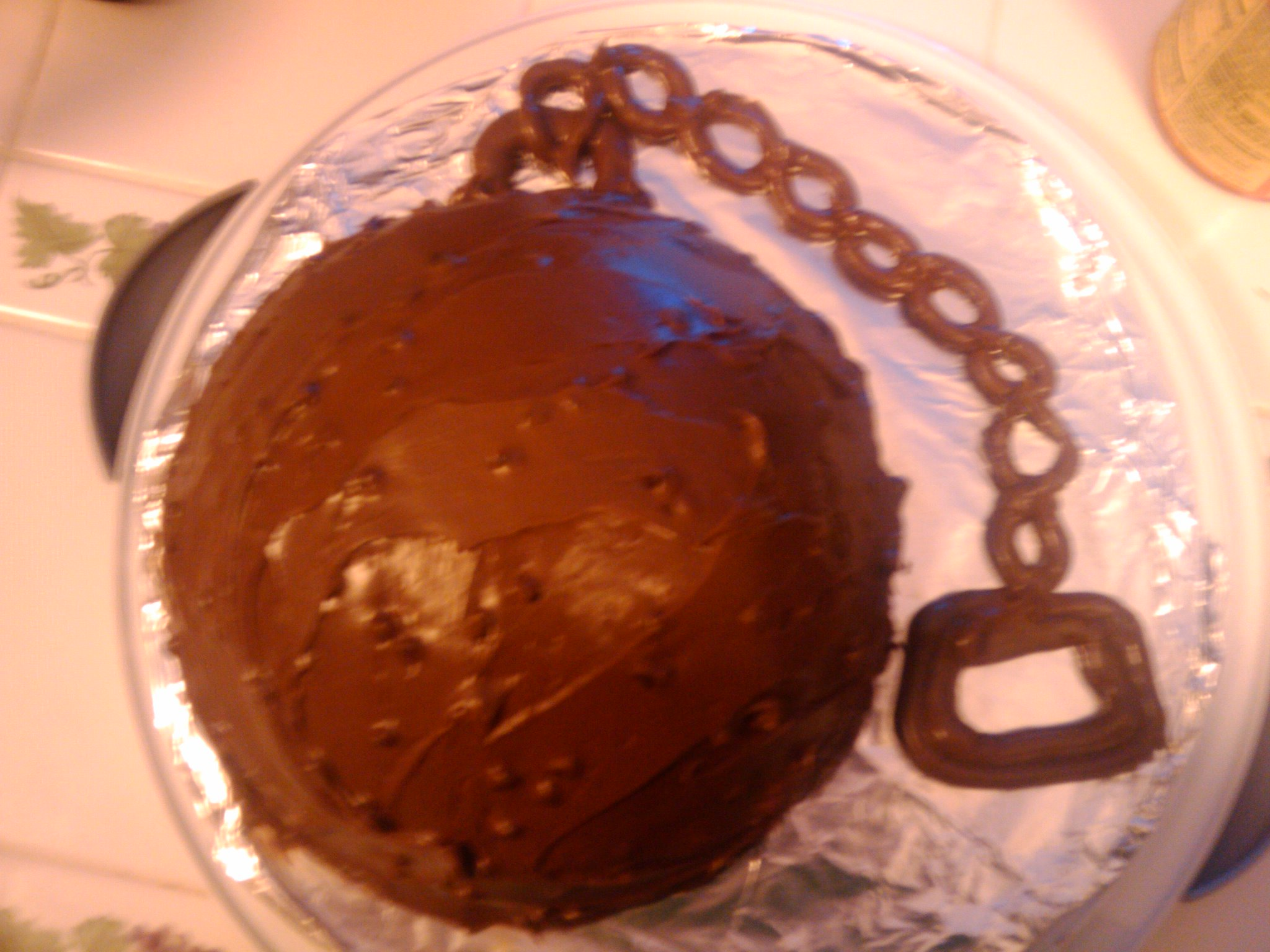Jacksonville, fl :: Ball and chain cake