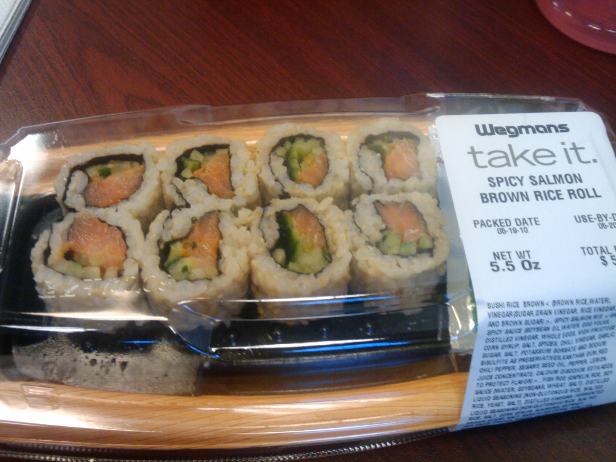 Allentown,Pa  :: Sushi from Wegmans