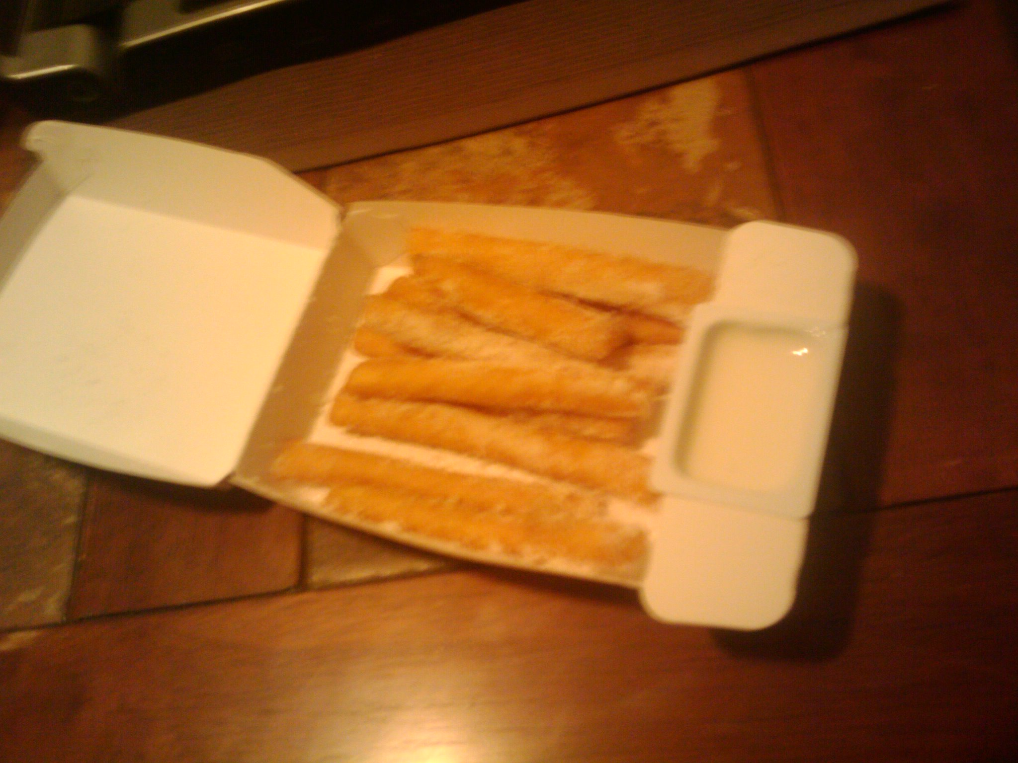 pasadena, tx :: funnel cake sticks w/ icing from burgerking, yummmm