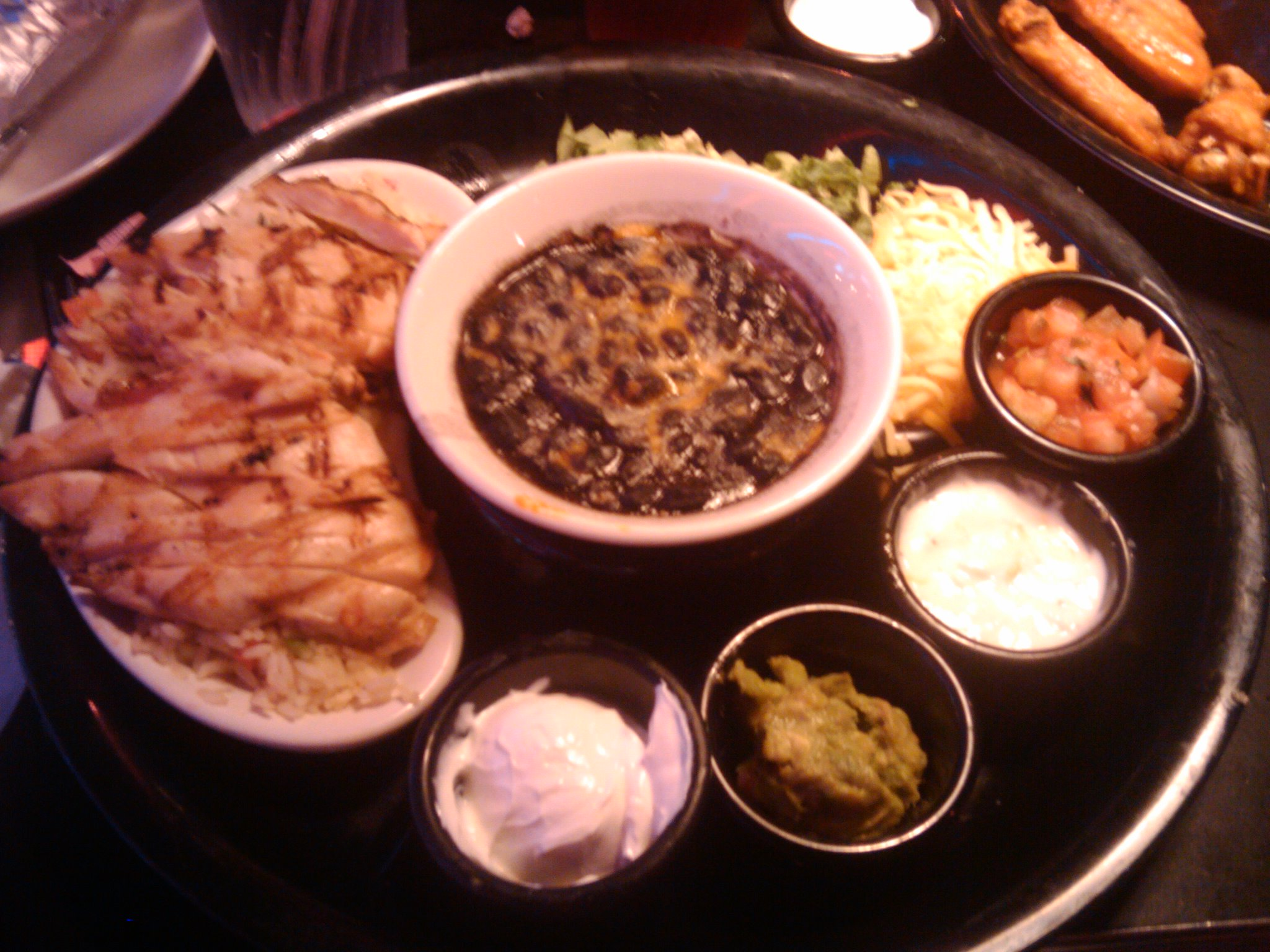 Dave & Busters, San Antonio TX :: Eat and play taco combo
