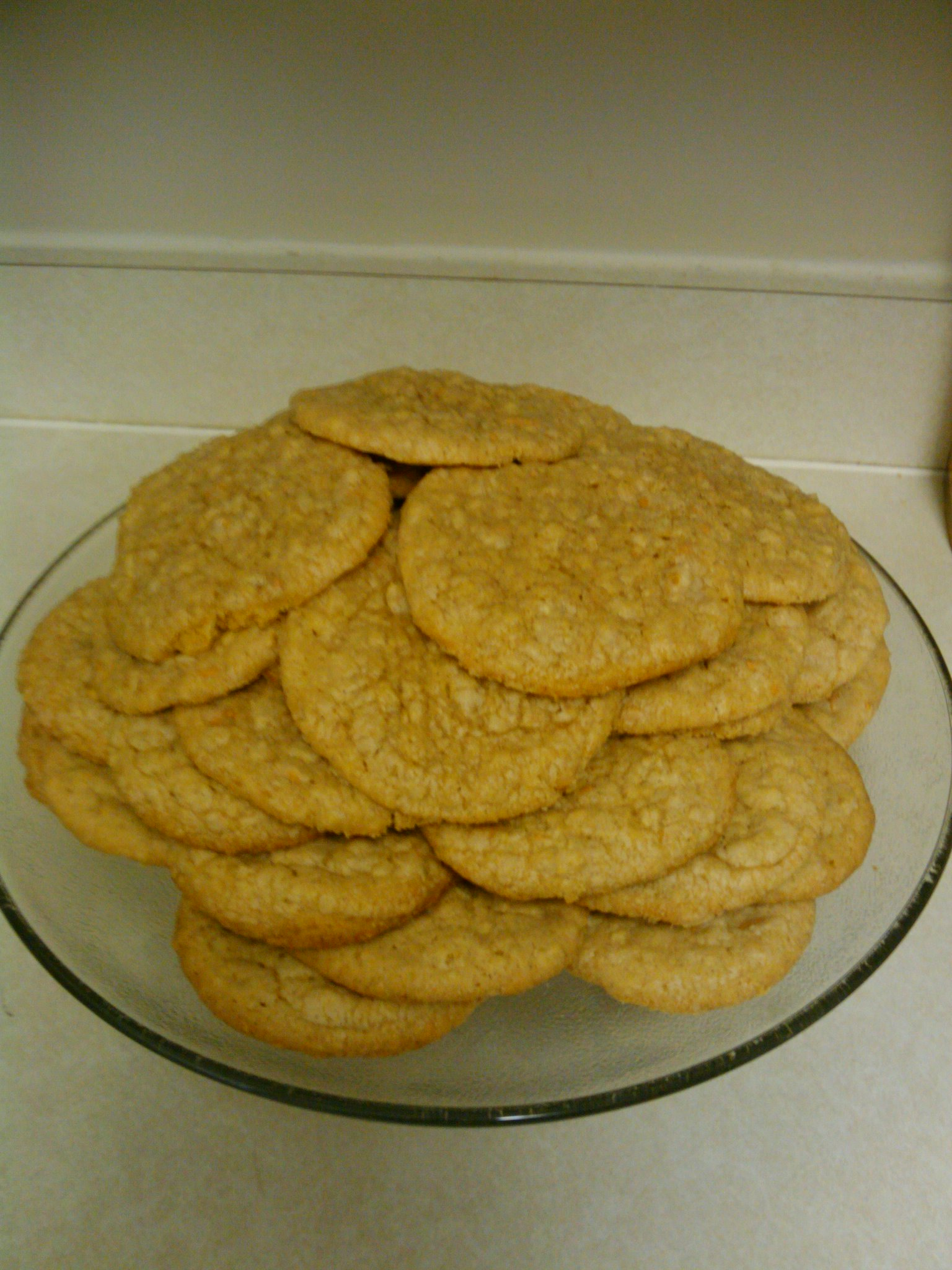 Orlando, FL :: Home-made oatmeal and butterscotch cookies.  The bomb!