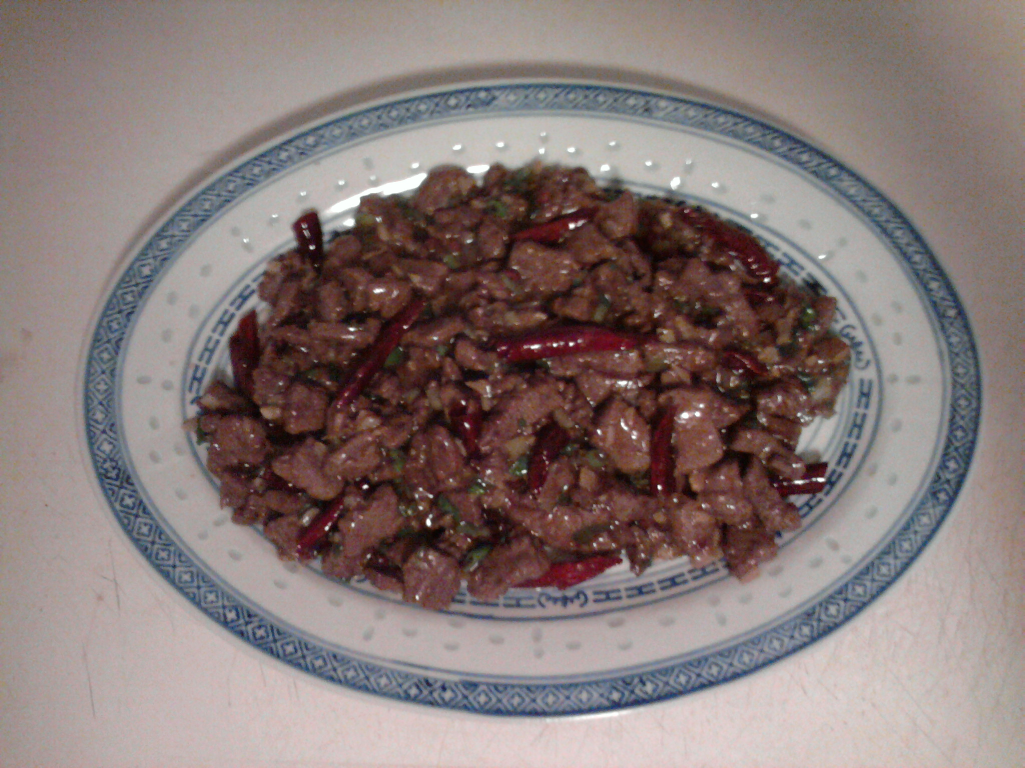 eastern ct :: homemade sichuan beef