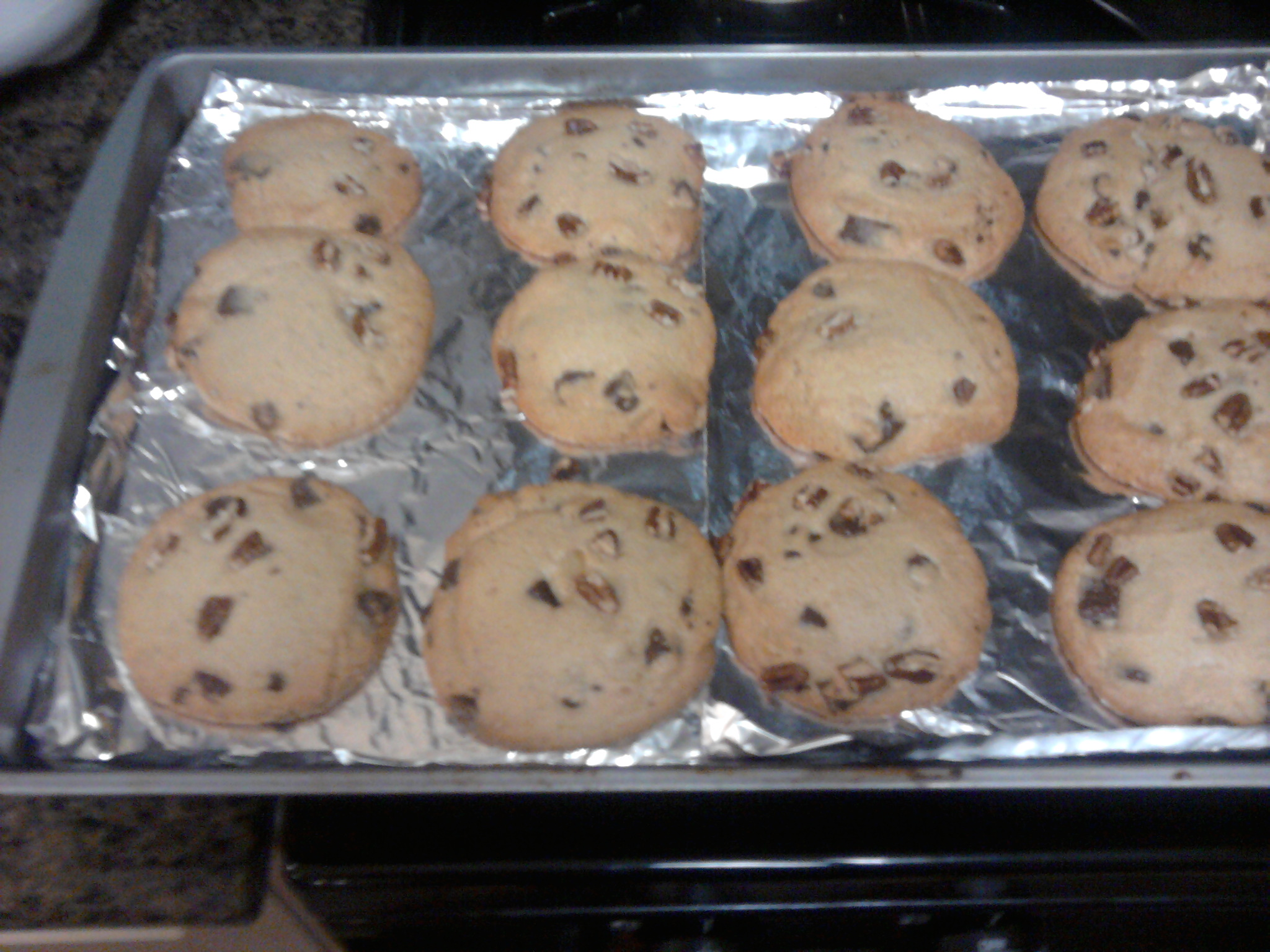 CA :: chocolate chip and pecan cookies