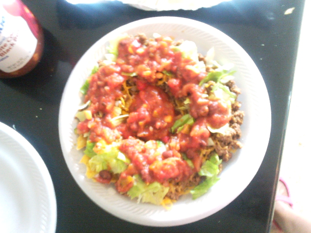 Pittsburgh Pa :: Taco Salad...dinner for tonight