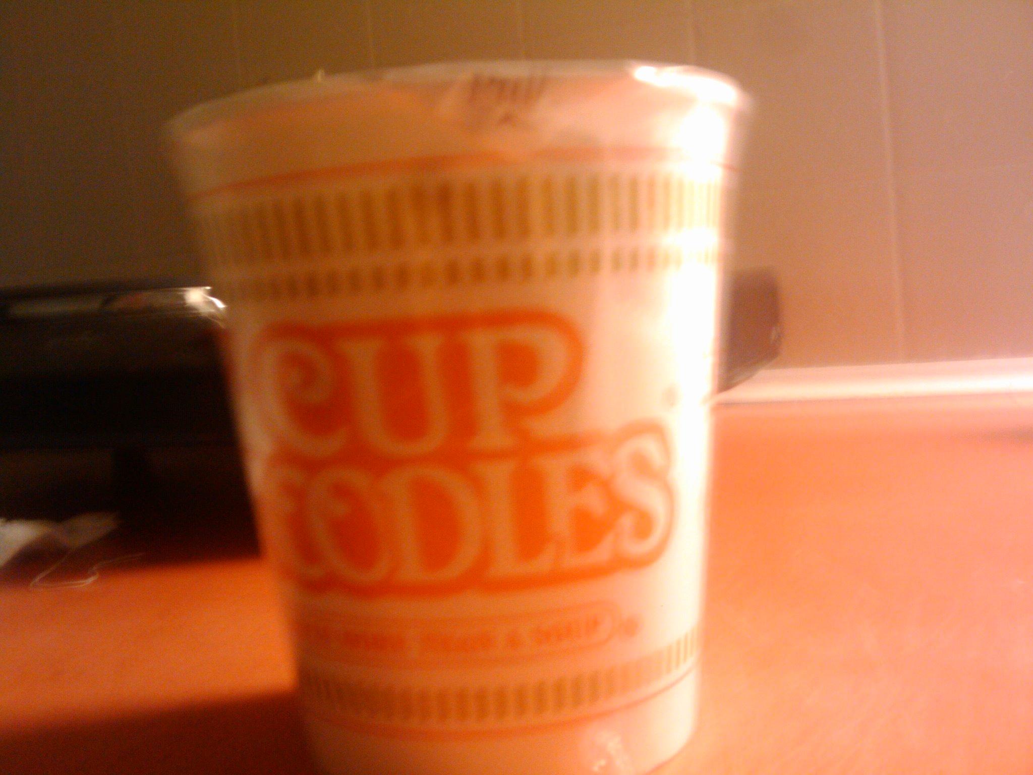 Buffalo :: cup of noodles yumm..