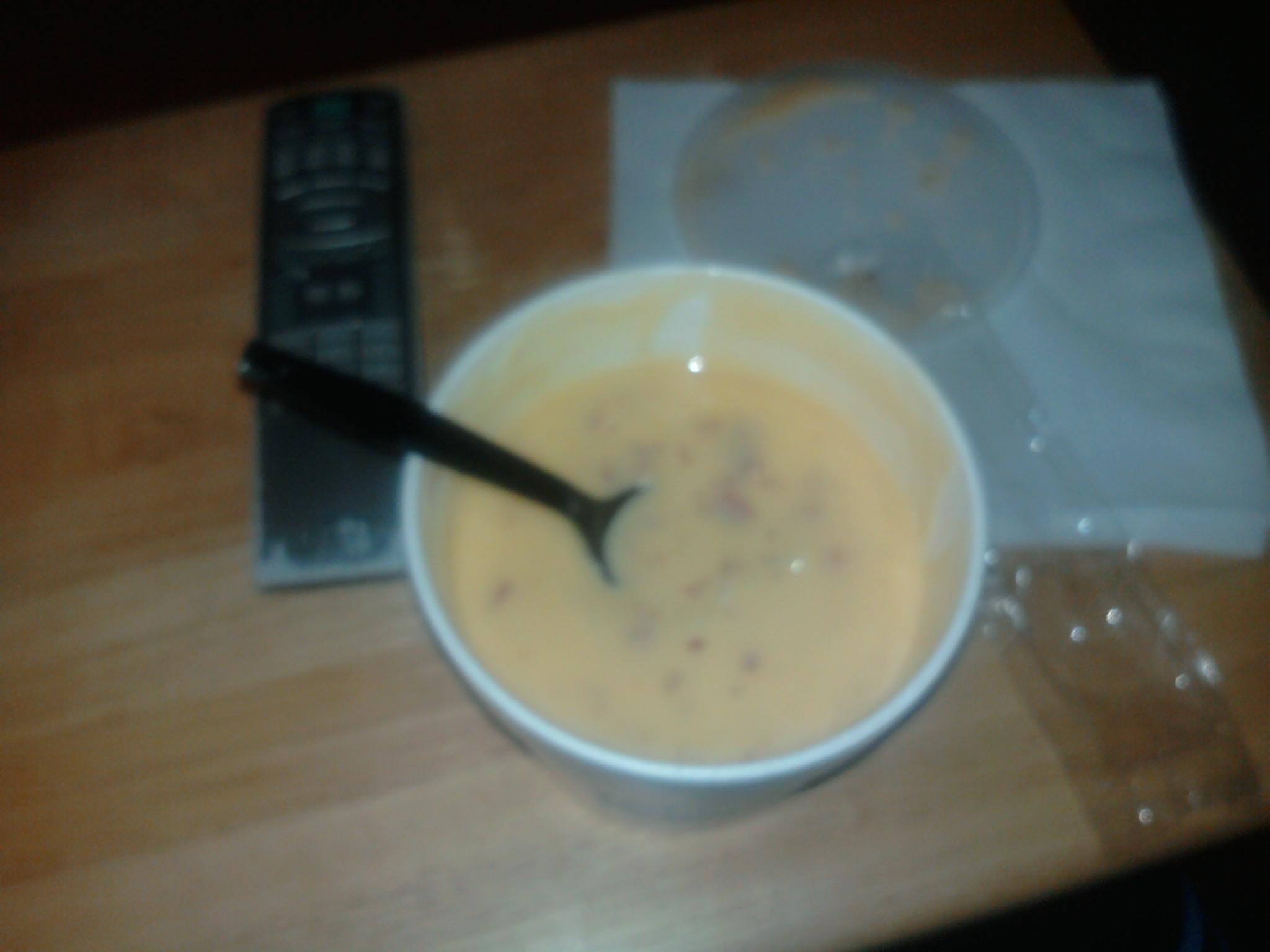 toledo,ohio :: also from bob evans, cheddar potato soup. yummy