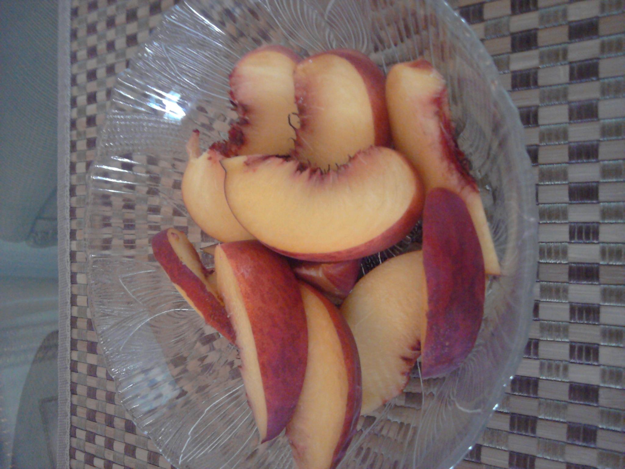 La Joya t.x. :: fresh diced peaches