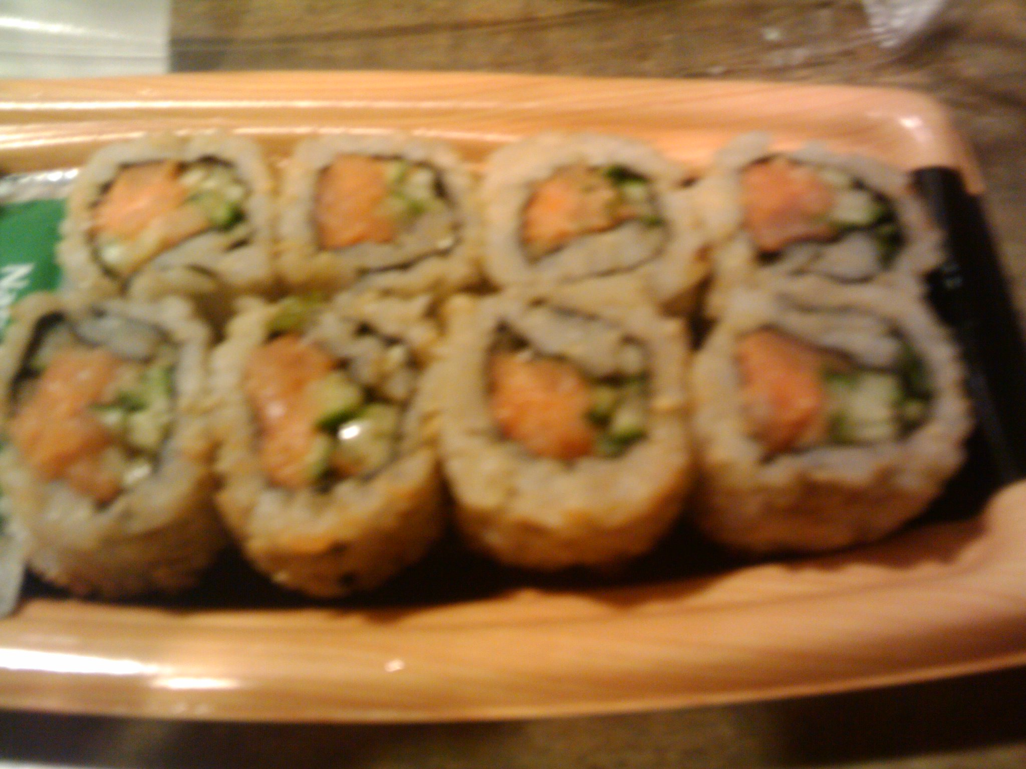 1St Ward  :: Spicy Salmon Roll w/ Brown Rice