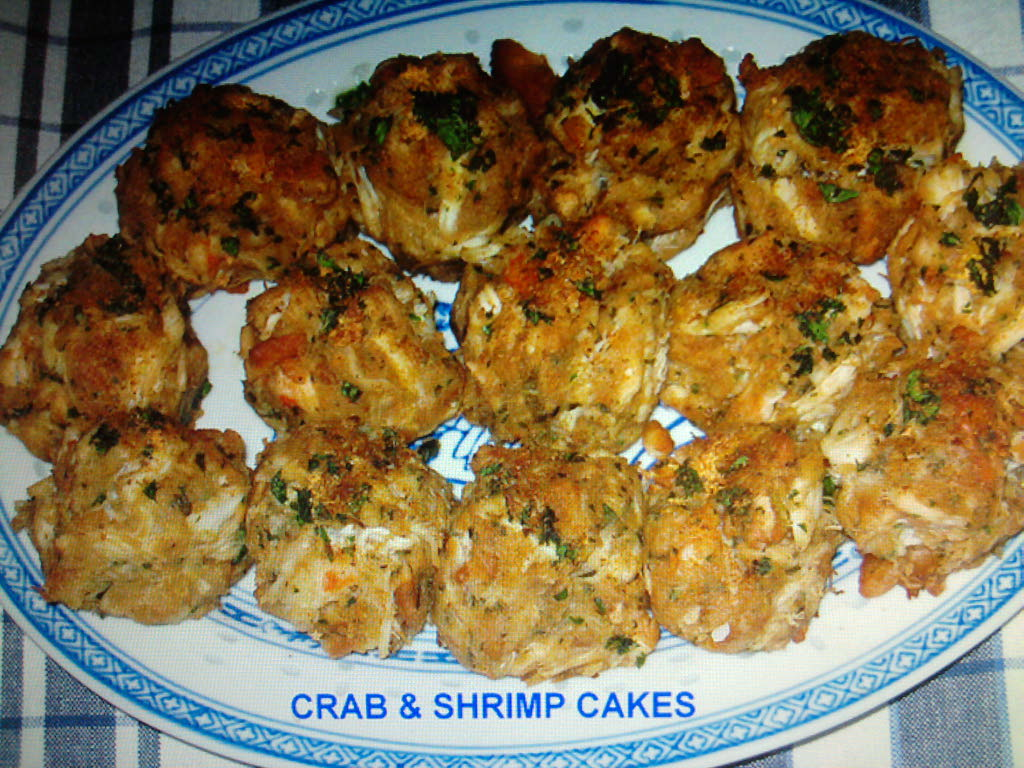 eastern ct  :: homemade shrimp and crab cakes