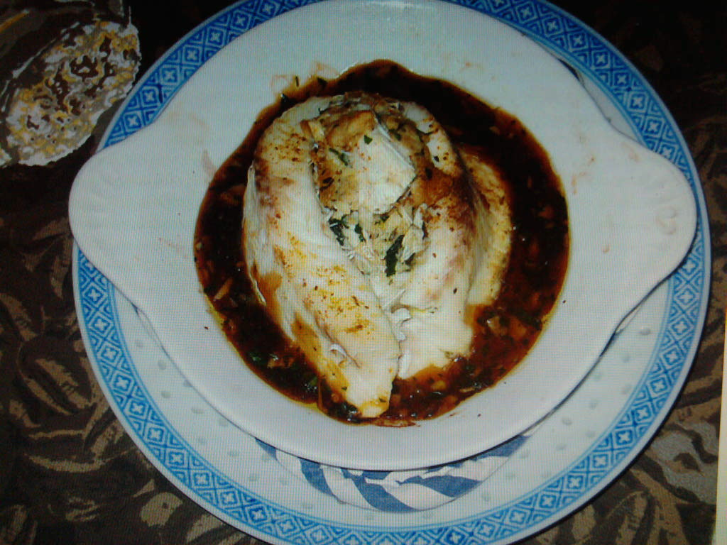 eastern ct :: shrimp and crab stuffed tilapia baked in a spicy sweet thai chili sauce