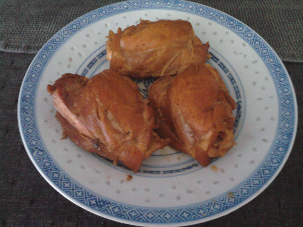 eastern ct :: homemade chinese red braised chix thighs