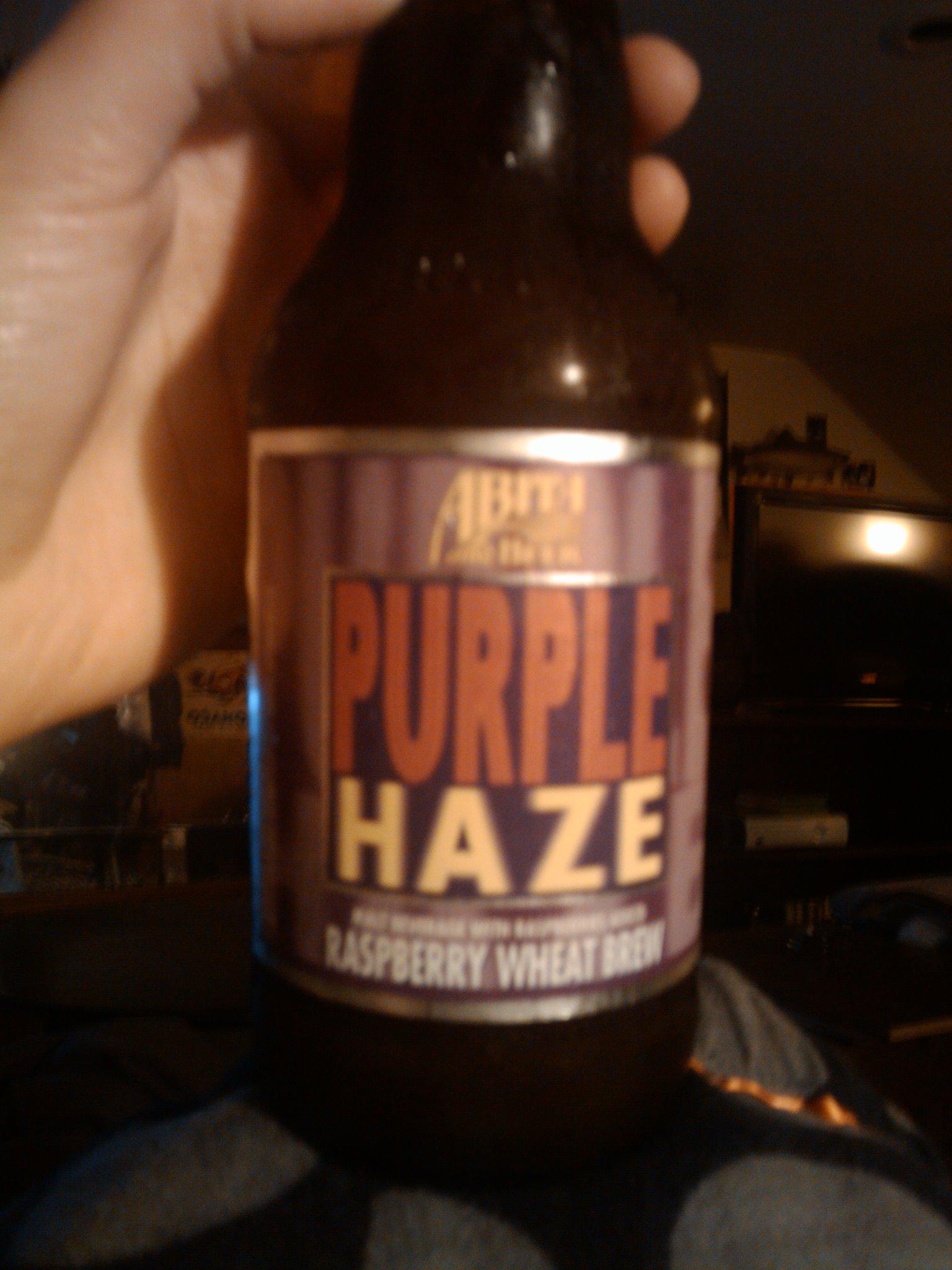 1St Ward :: Anita Beer Purple Haze Raspberry Wheat Brew... Yummy Carolita would agree =)