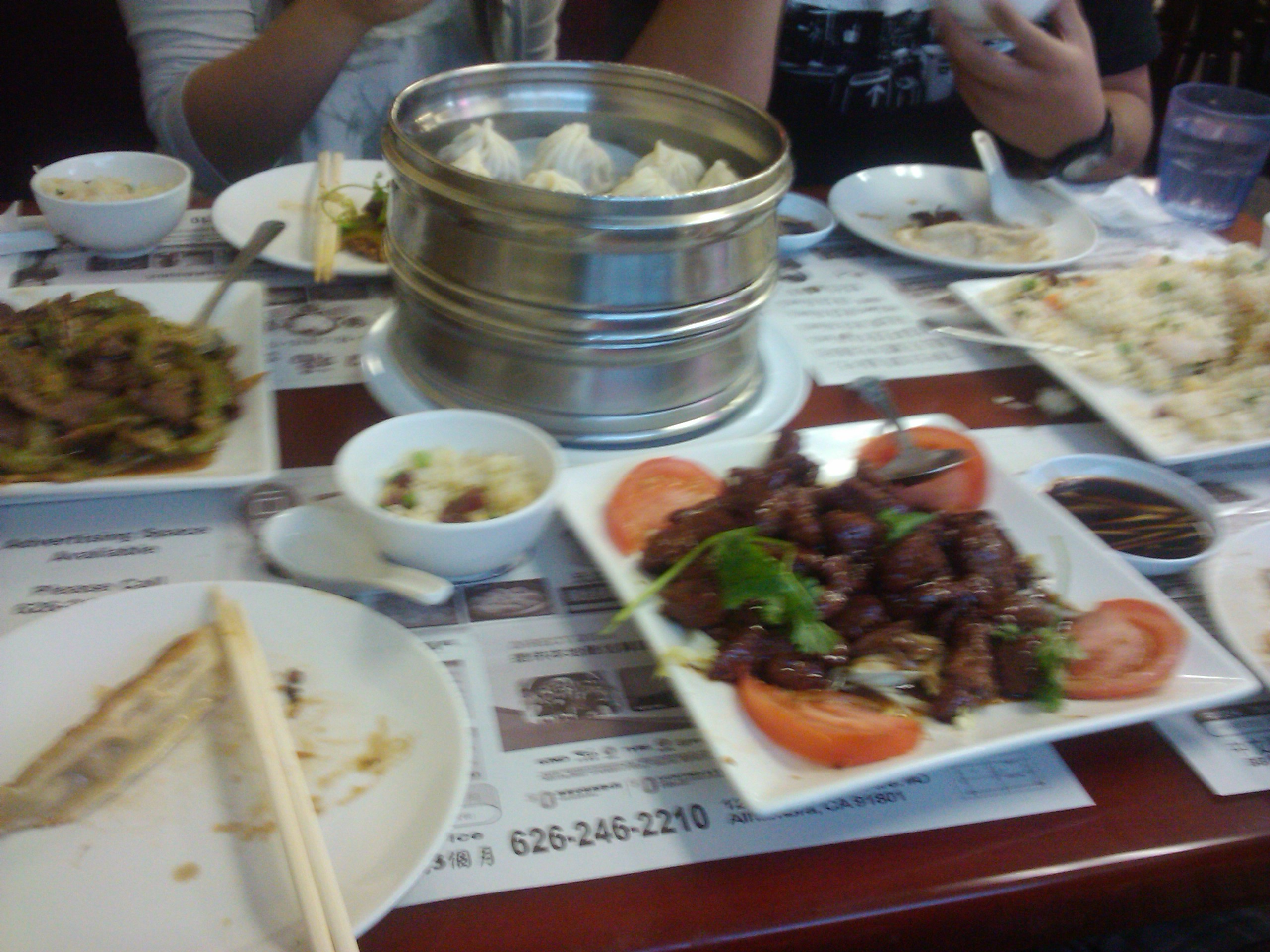 Long Beach,CA :: chinese dumplings, bitter melon and more. tasted like home