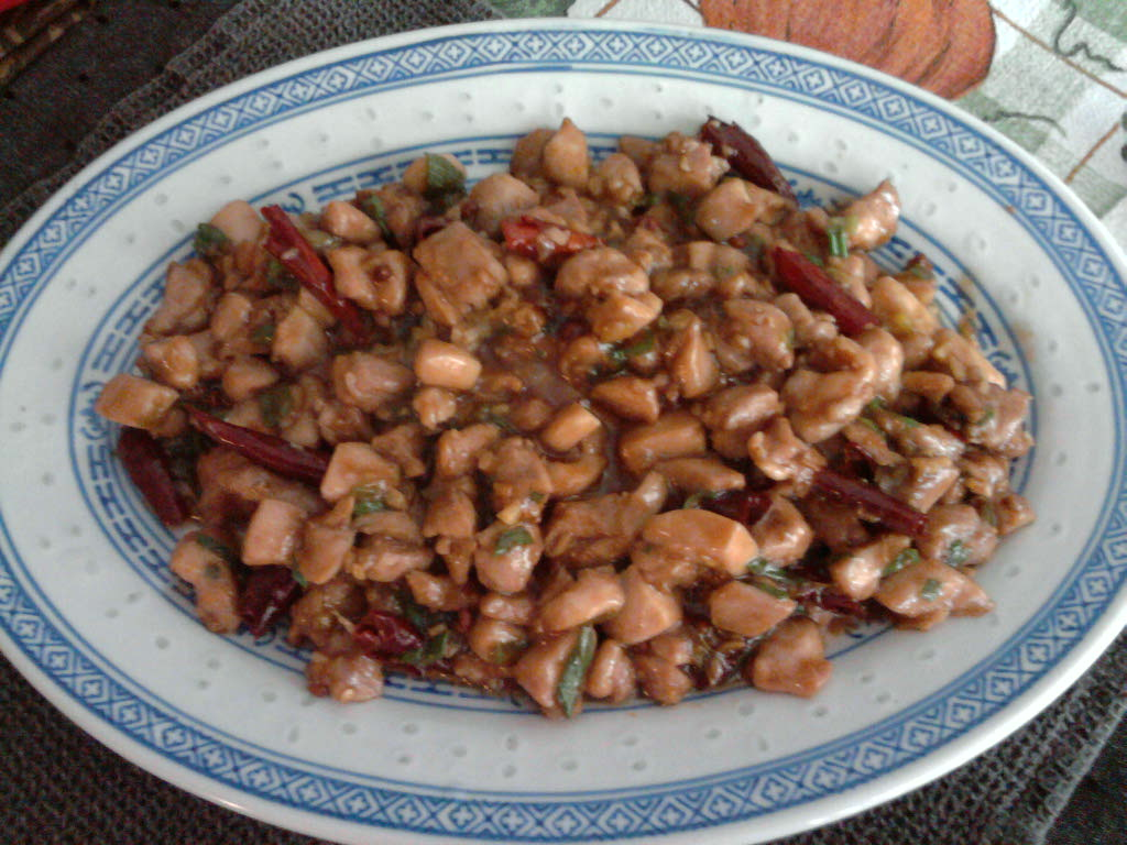 eastern ct  :: homemade gong bao chicken