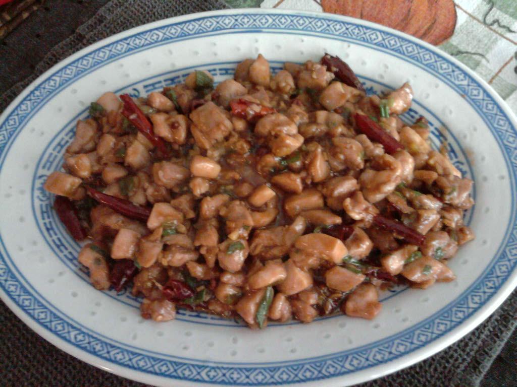 eastern ct  :: homemade gong bao chicken
