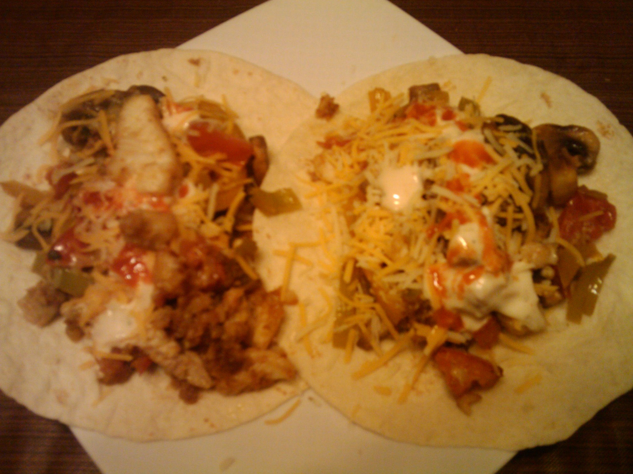 1St Ward :: Homemade Fish Tacos