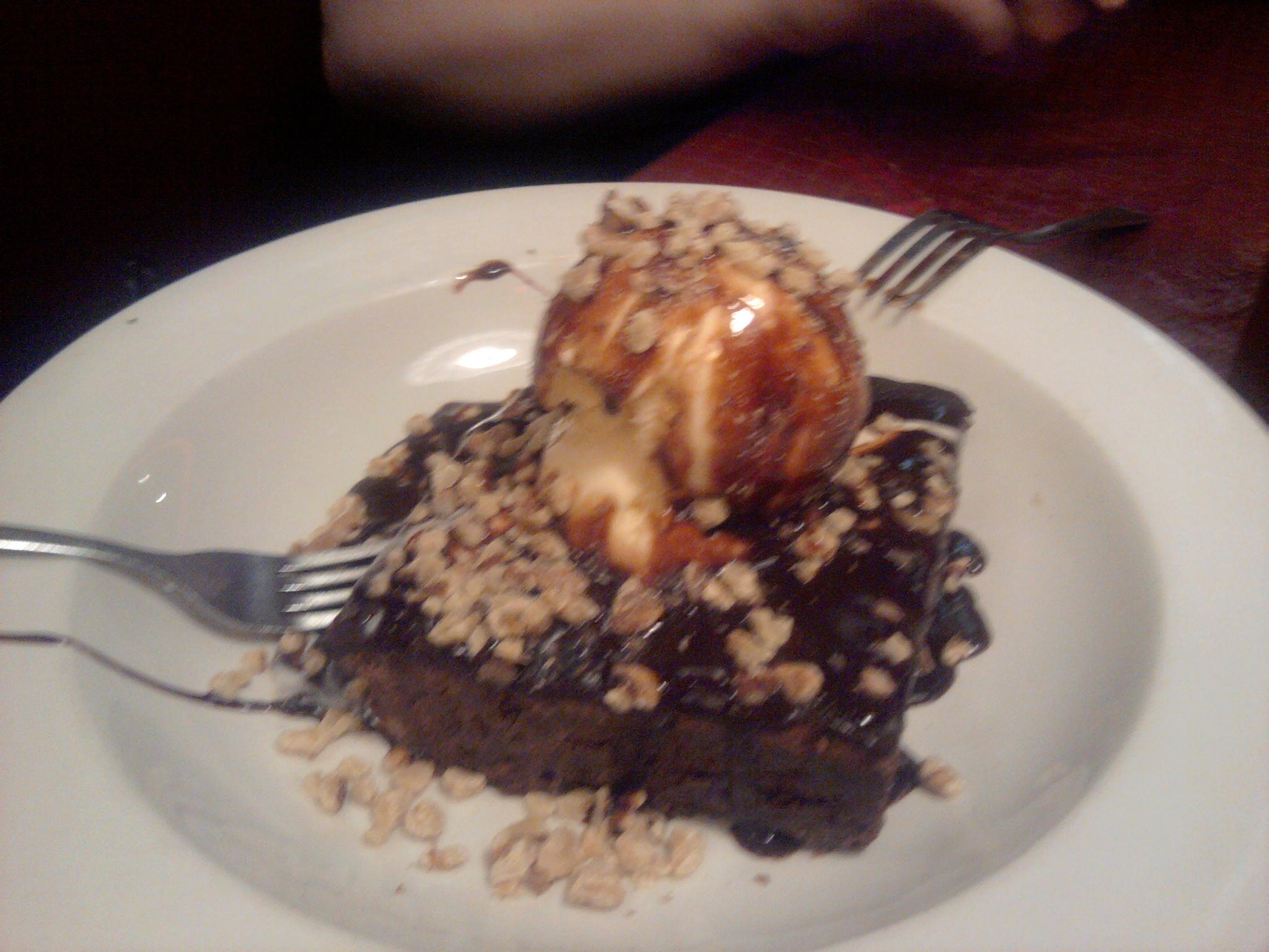 La Joya  :: Brownie & icecream
