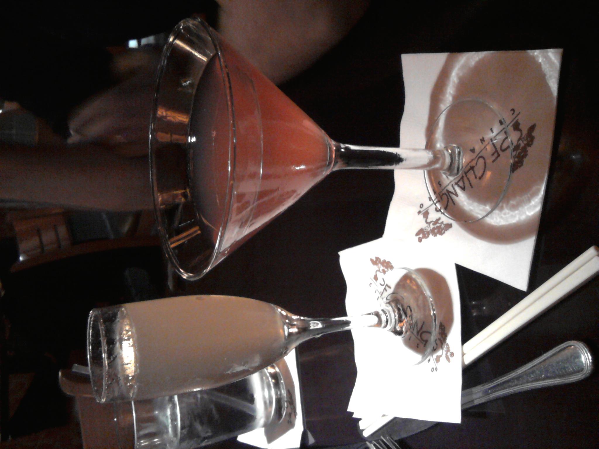 La Joya  :: cosmopolitan & mandarin champagne cocktail