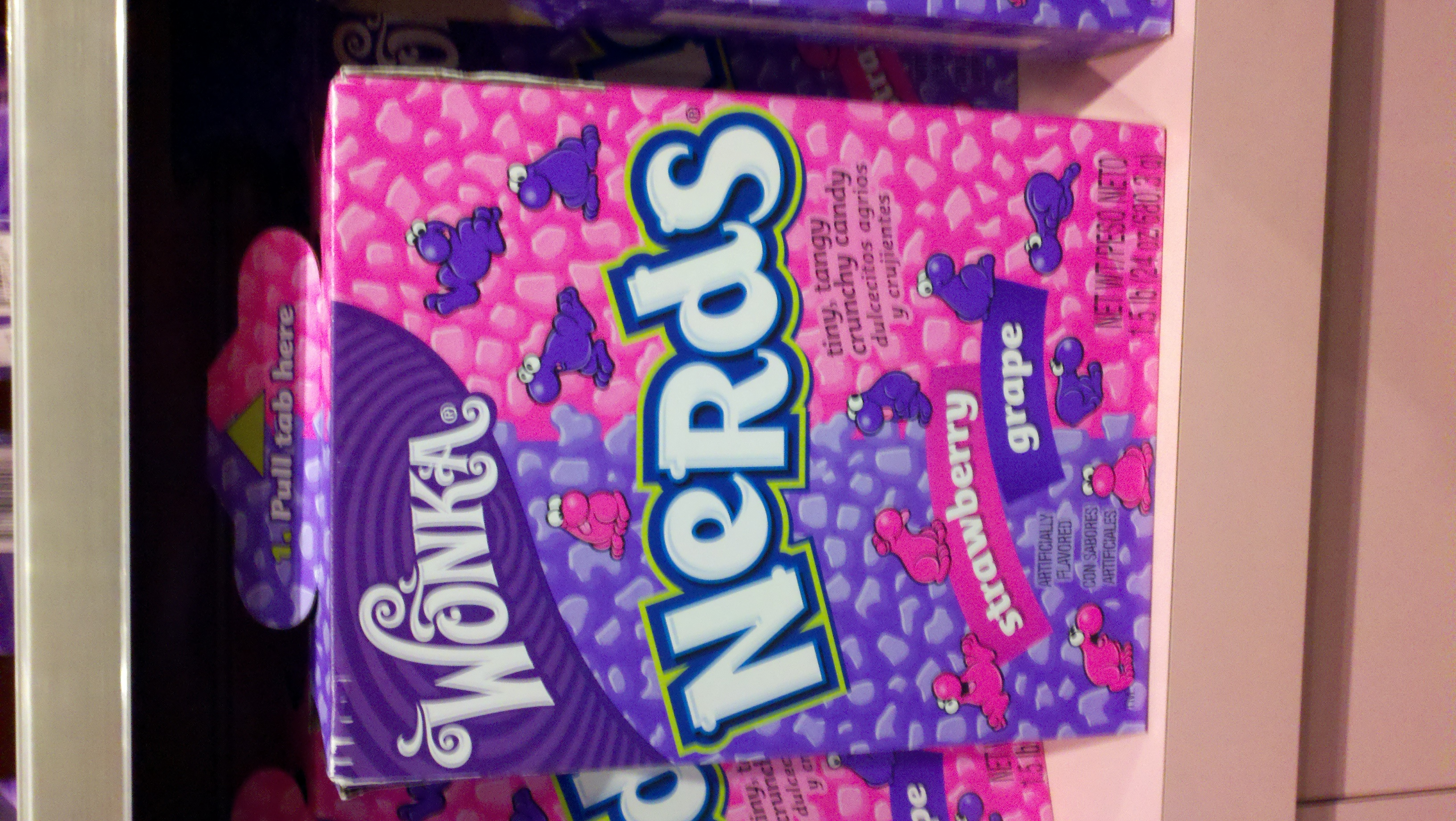 toys r us, nyc :: a 1.5 pound box of nerds!! I wish I ate it.