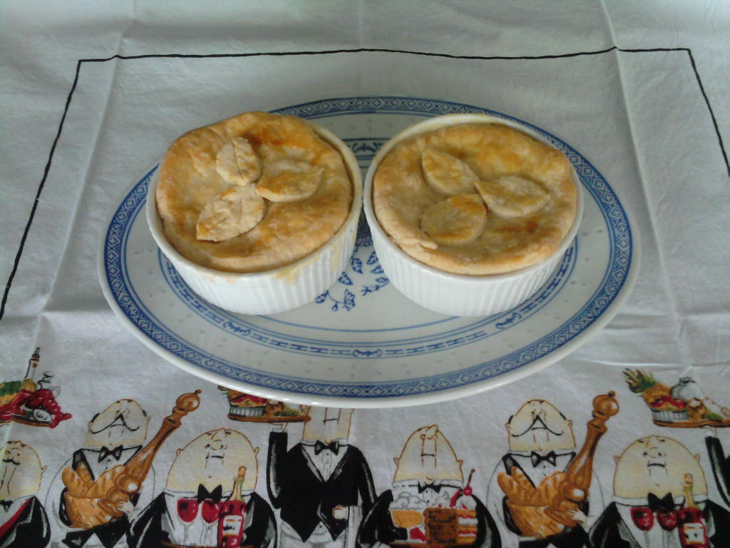 eastern ct  :: homemade chicken pot pie.