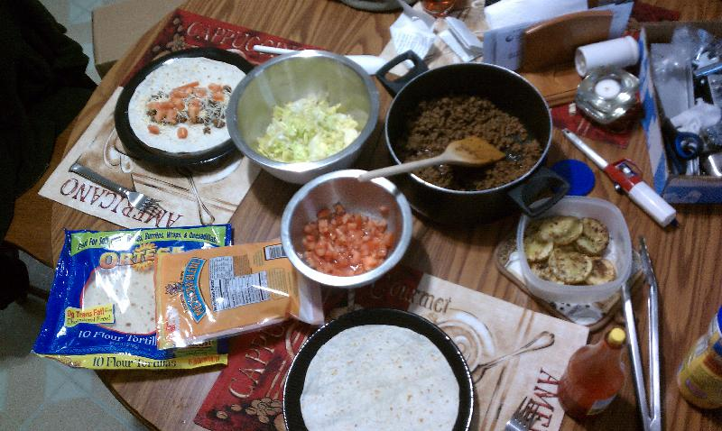 new britain ct :: Taco fixings for dinner