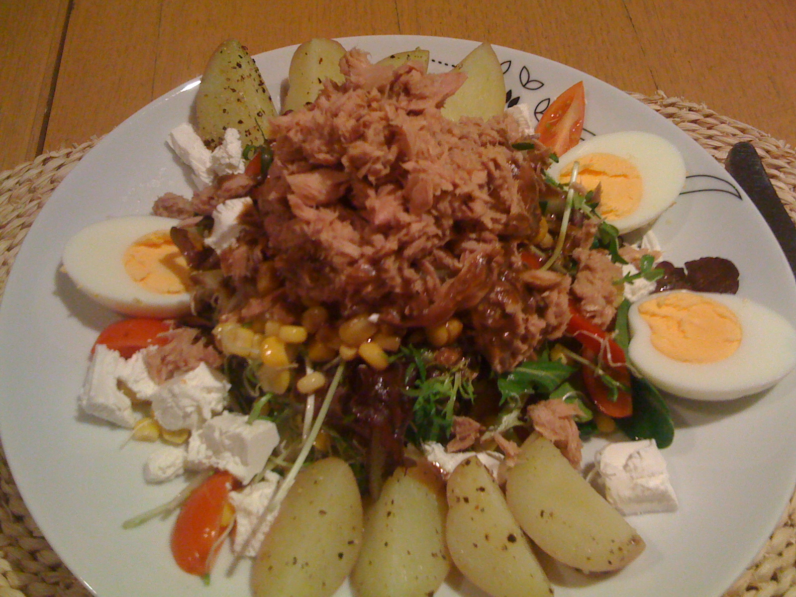Brisbane QLD Australia :: Power food, An adaption on a Niçoise salad!!!
