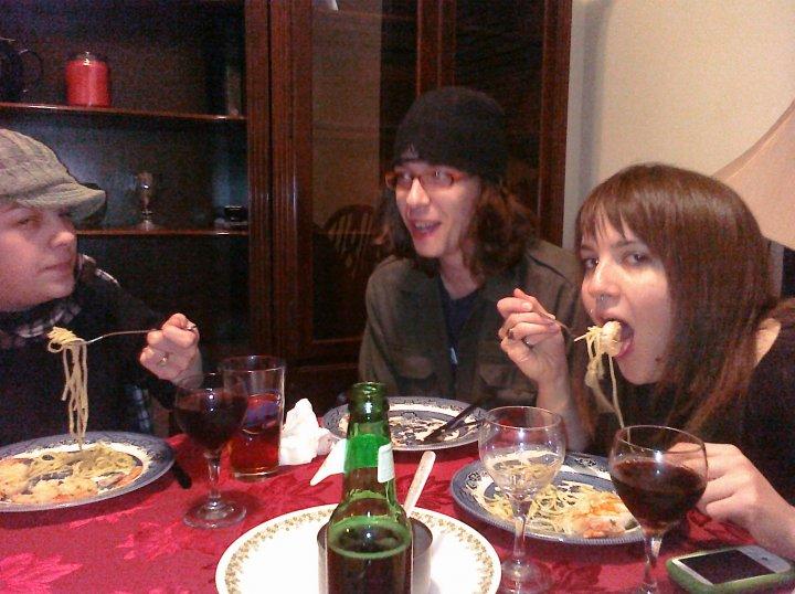 ALLENTOWN,PA :: jesss eatting garlic butter pasta shrimp and lobster