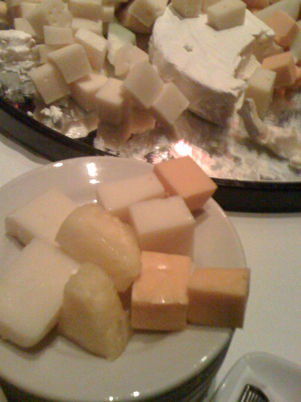 Ruth Chris Steak House :: I ate more cheese at this place! just kept on packn it in!!!
