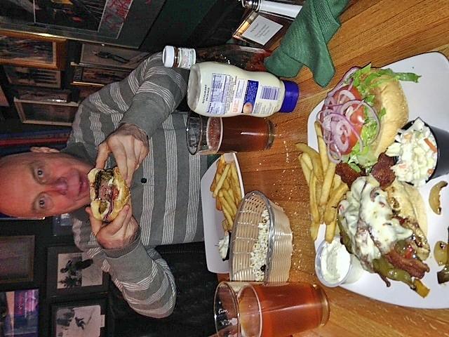 Meredith NH :: Angus burger loaded