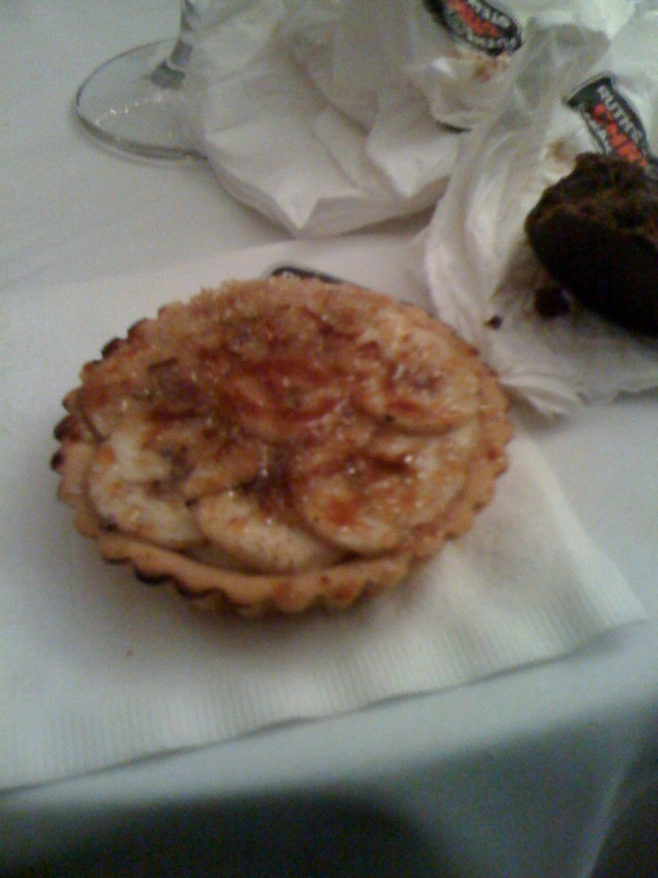 Ruth Chris Steak House :: this thing was like a banana creme brulee!