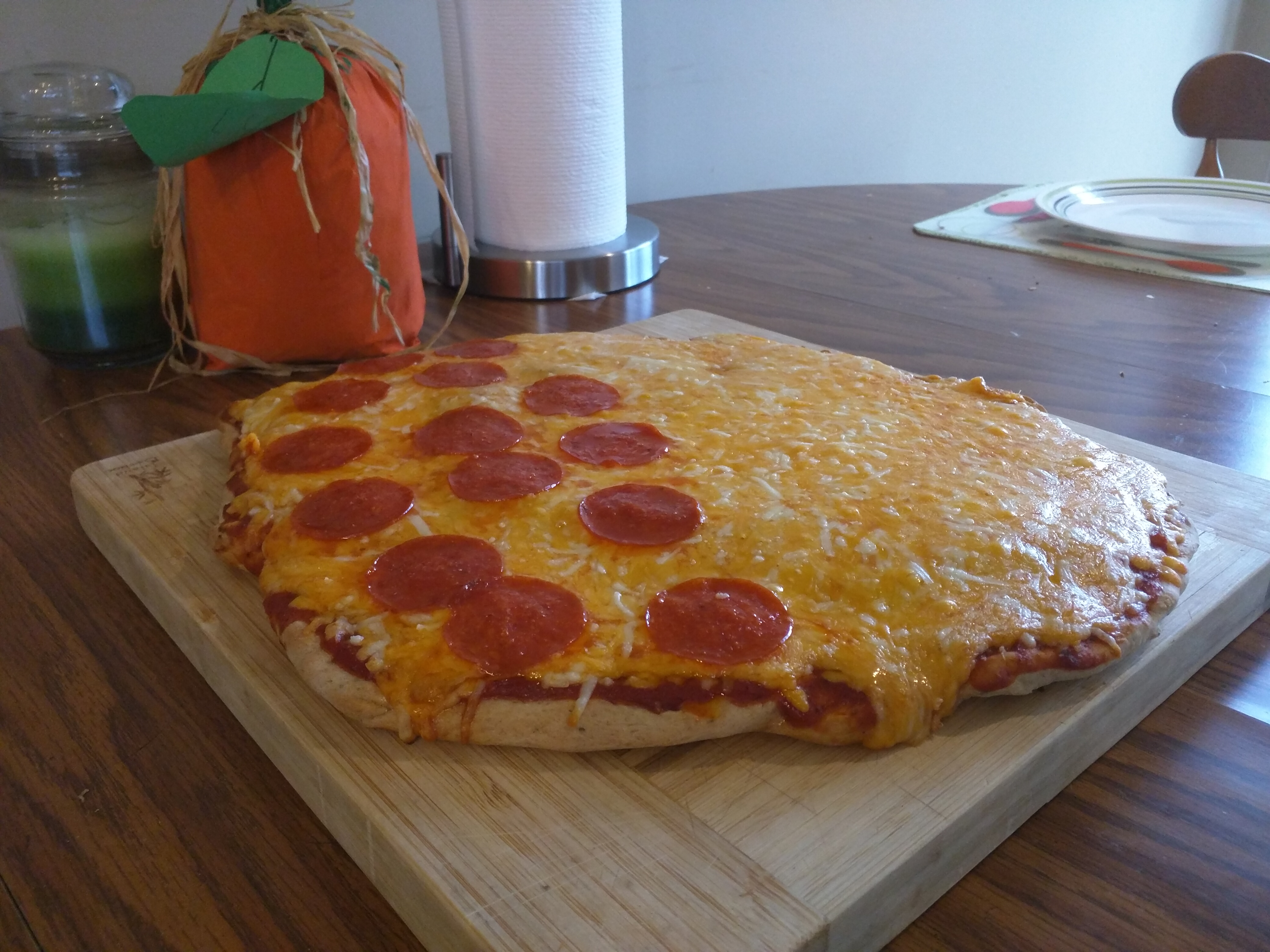 Home Plainville CT :: From scratch pizza dough, pepperoni and cheese