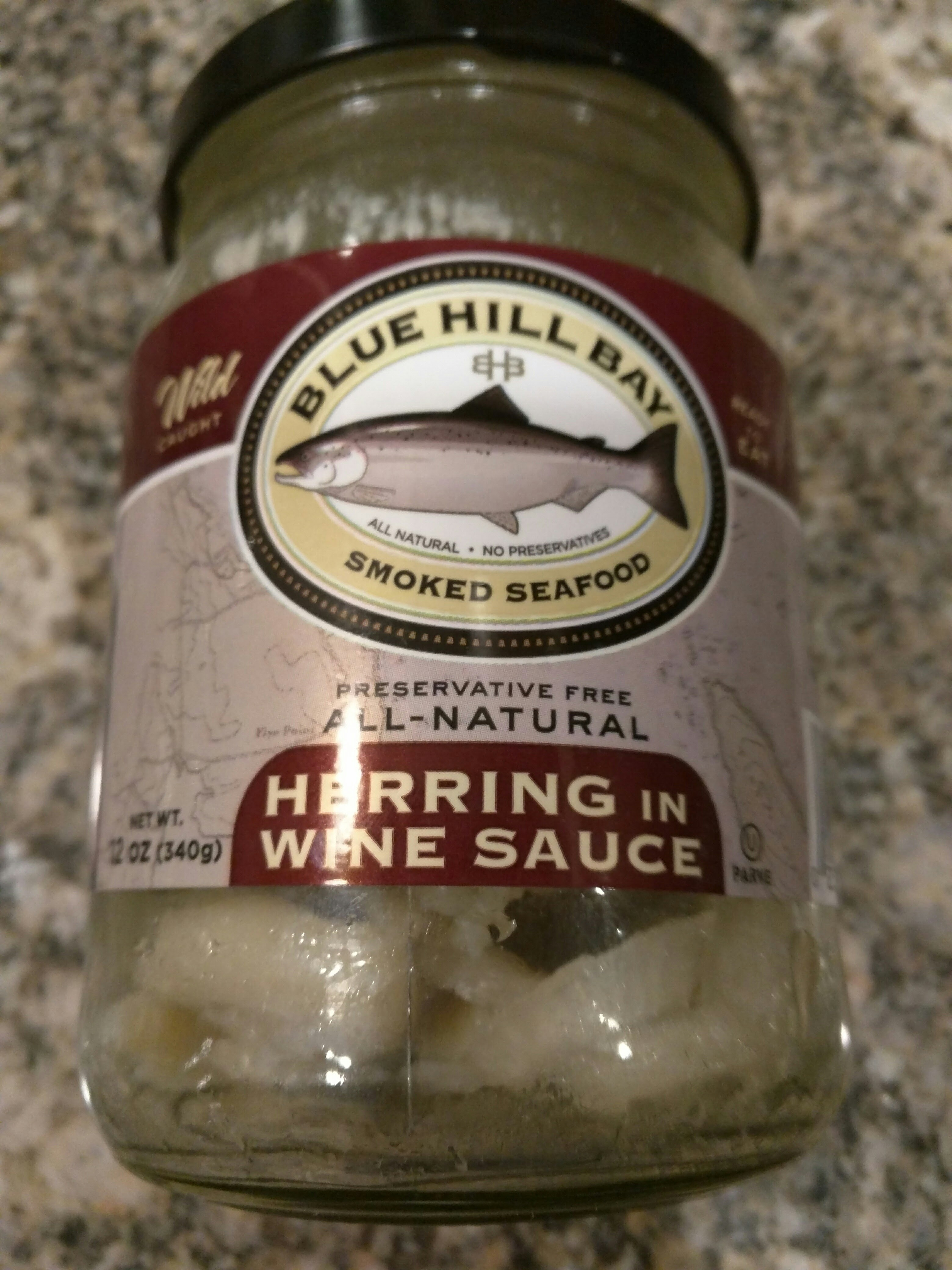 03055 :: Herring in Wine Sause