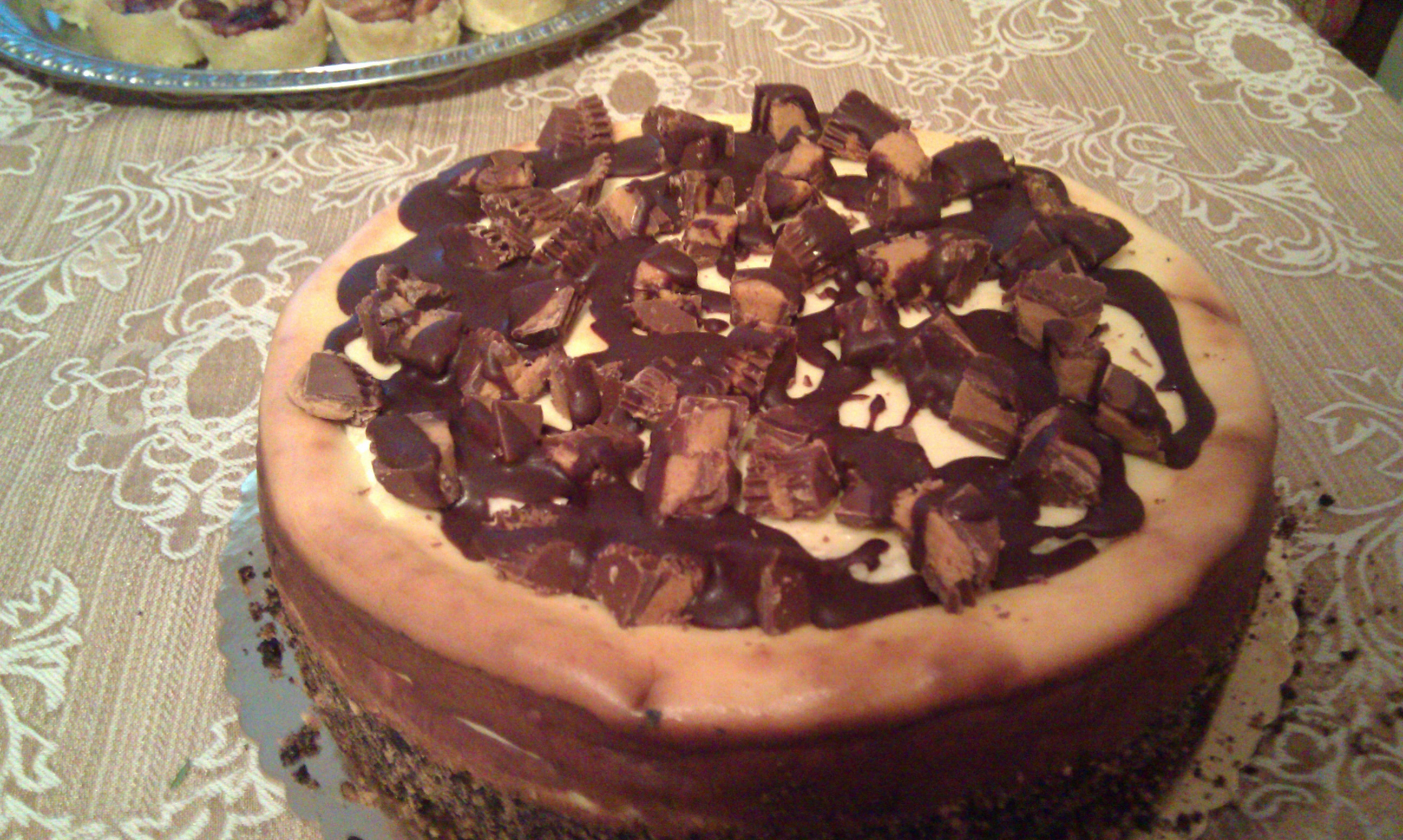 jaffrey, nh :: peanut butter cup cheesecake