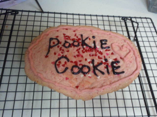 Dallas Texas :: a cookie my wife made for me..yummmyy