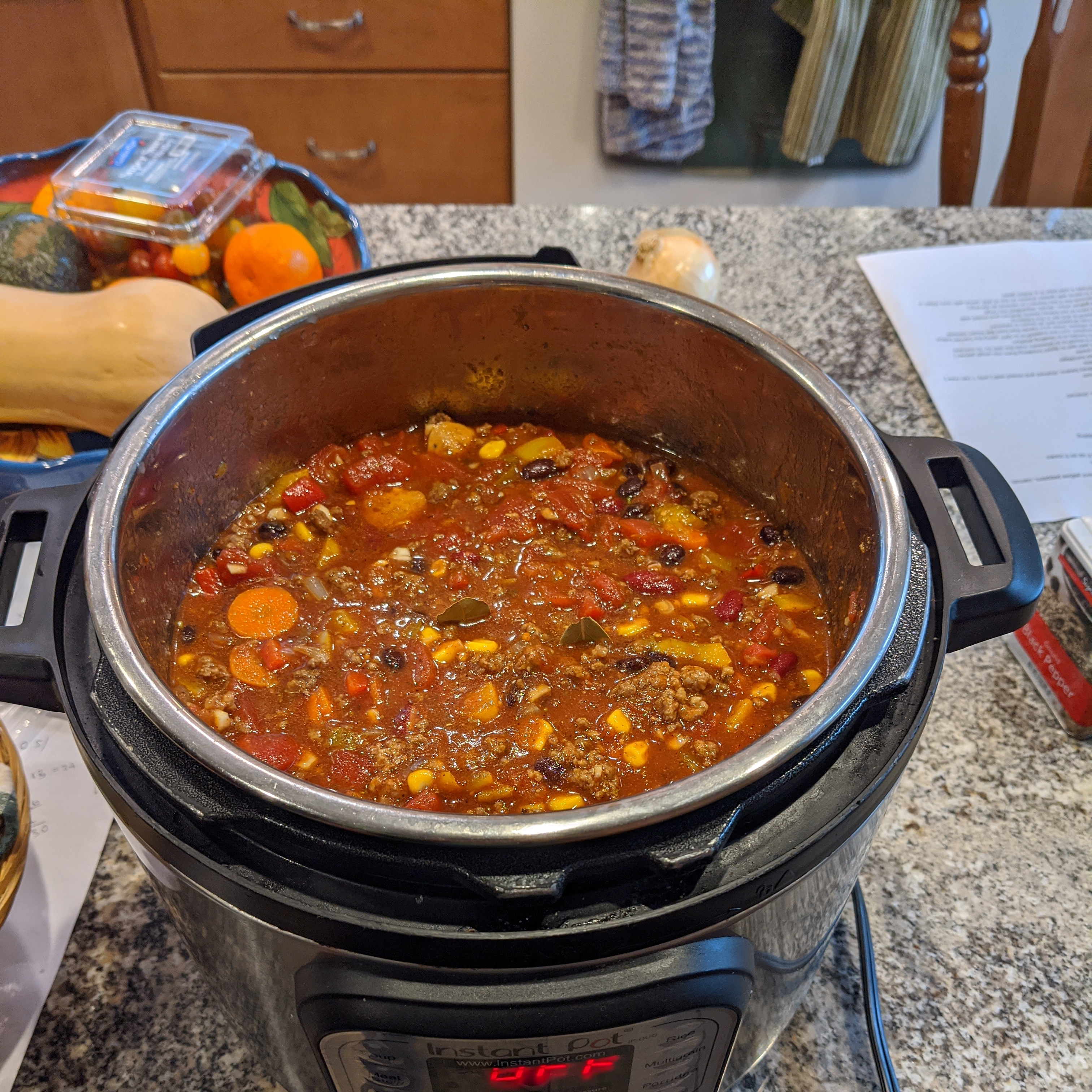 Milford, NH :: My Famous Chili