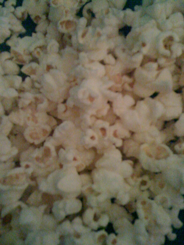 "My House Cambridge, MA :: eating some ""pup cahn"" aka Pop-Corn"