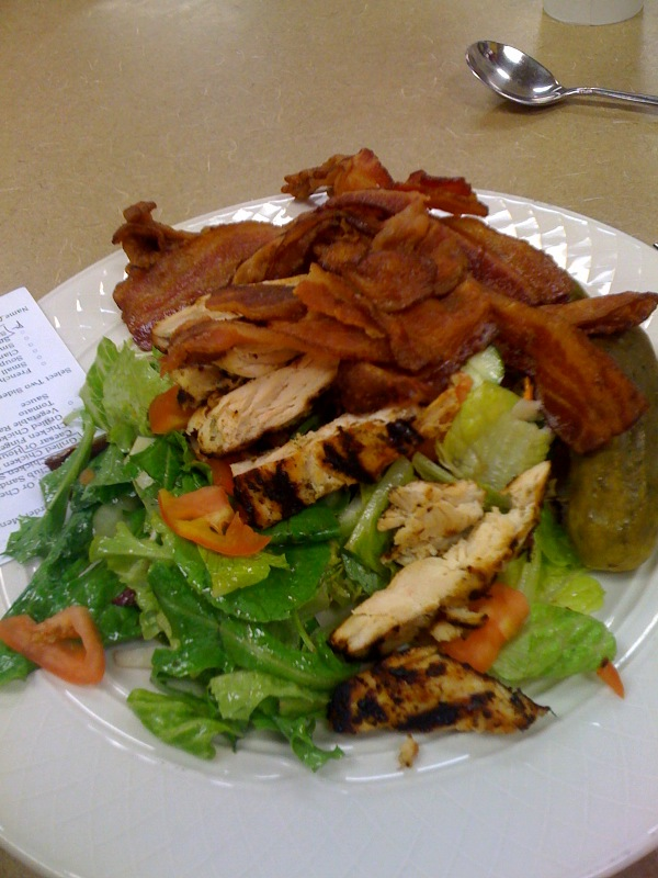 Marriott Cafe :: I think a few donuts would have been better for me than this salad!