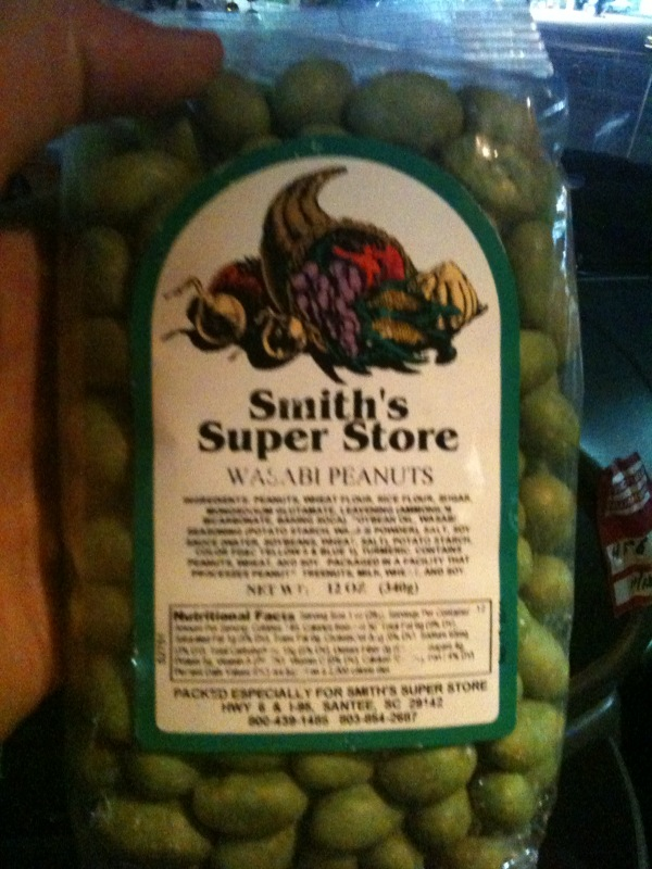 Smiths Super Store :: wasabi peanuts!!!  nothing more to say!