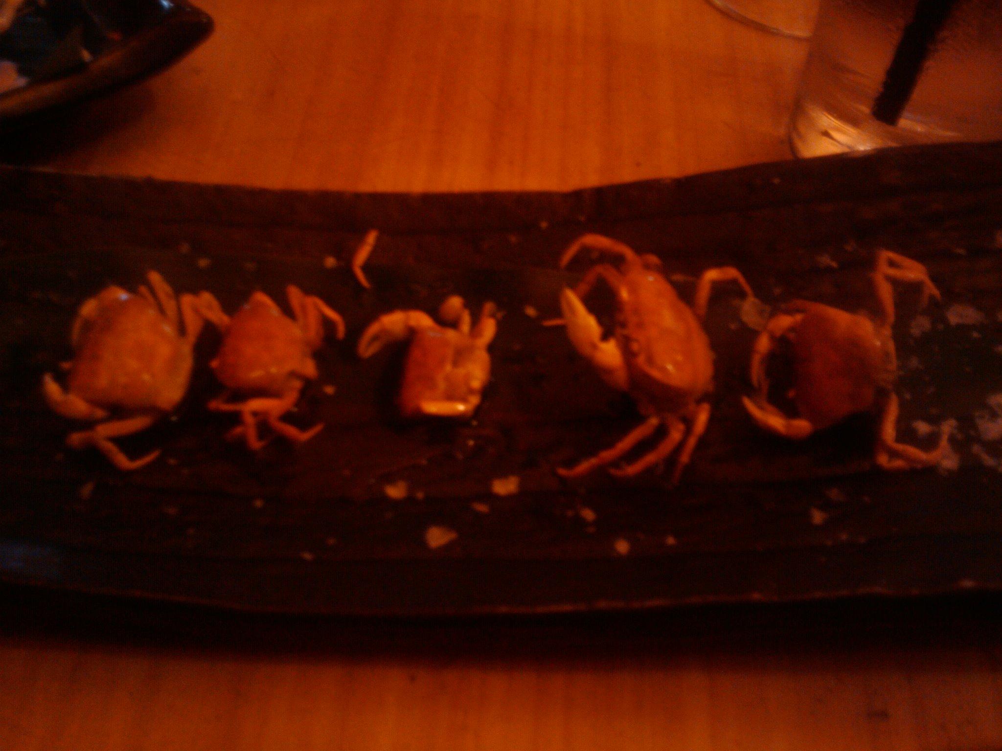 Sushi samba :: Crunchy crab.