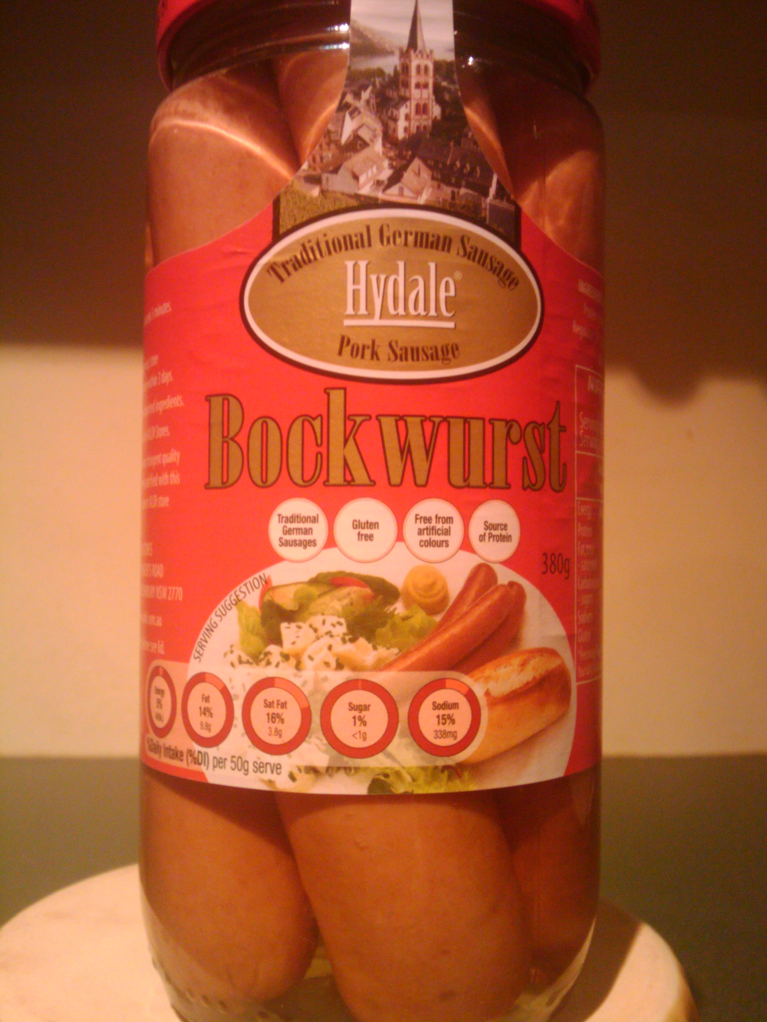 Brisbane, Australia :: SAUSAGES IN A JAR!!! CAN'T WAIT TO TRY THESE!!!  Another Aldi purchase!!!