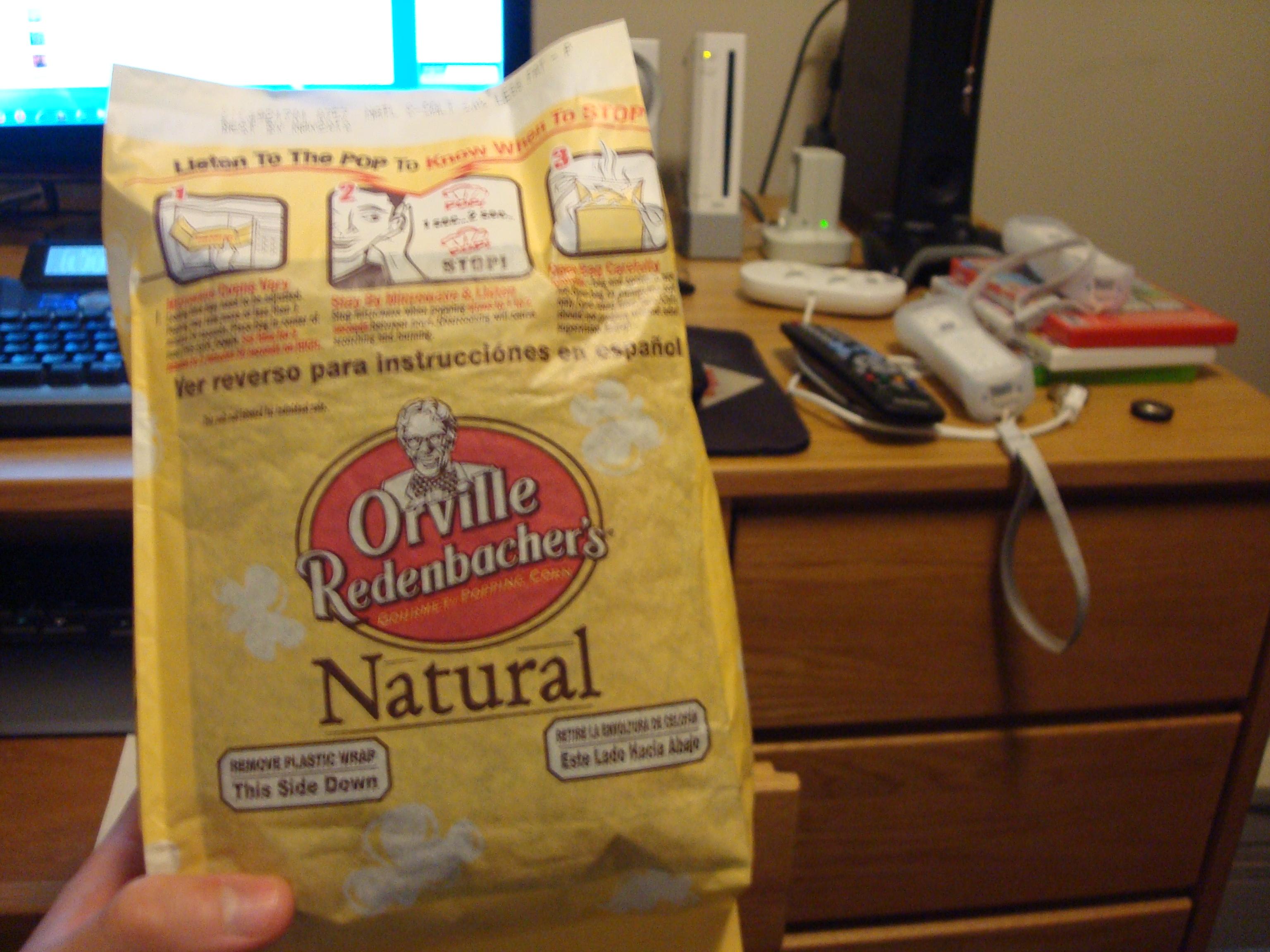 Pondside II Keene State College :: orvilles microwave popcorn! the best