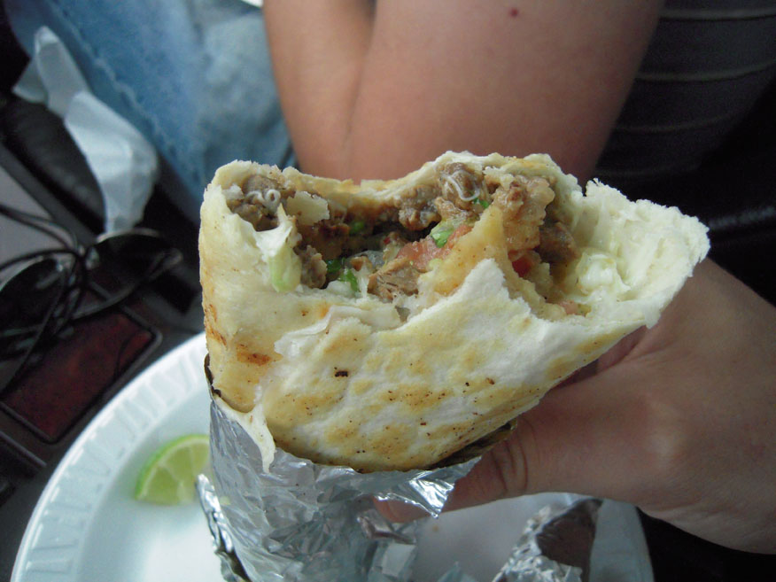 New Haven, CT :: I like burrito's... and this one was good!